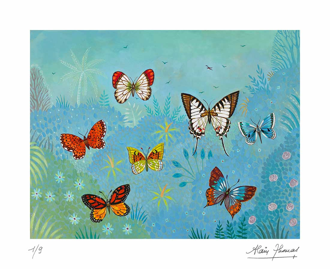 Ballets de papillons