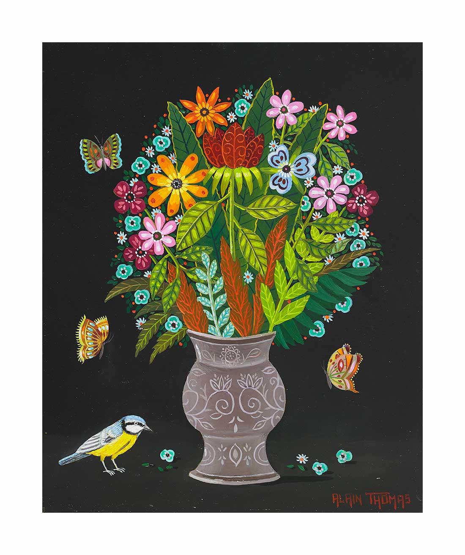 Bouquet aux papillons